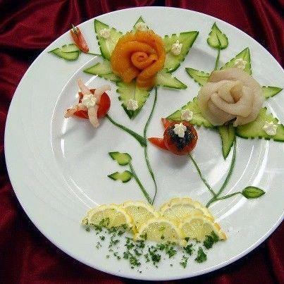 Deco de legumes for Decoration de plat avec des legumes